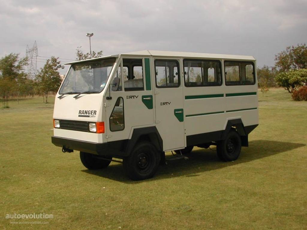 Hindustan Rtv Ranger Specs 1998 1999 2000 2001 2002