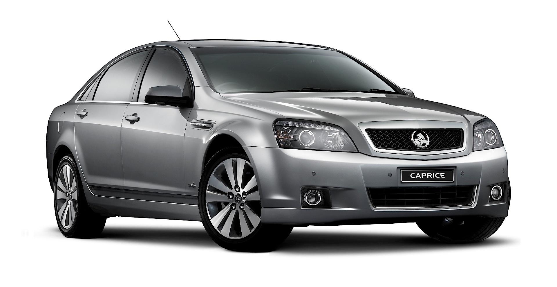 Holden Caprice Specs 2010 2011 2012 2013 2014 2015