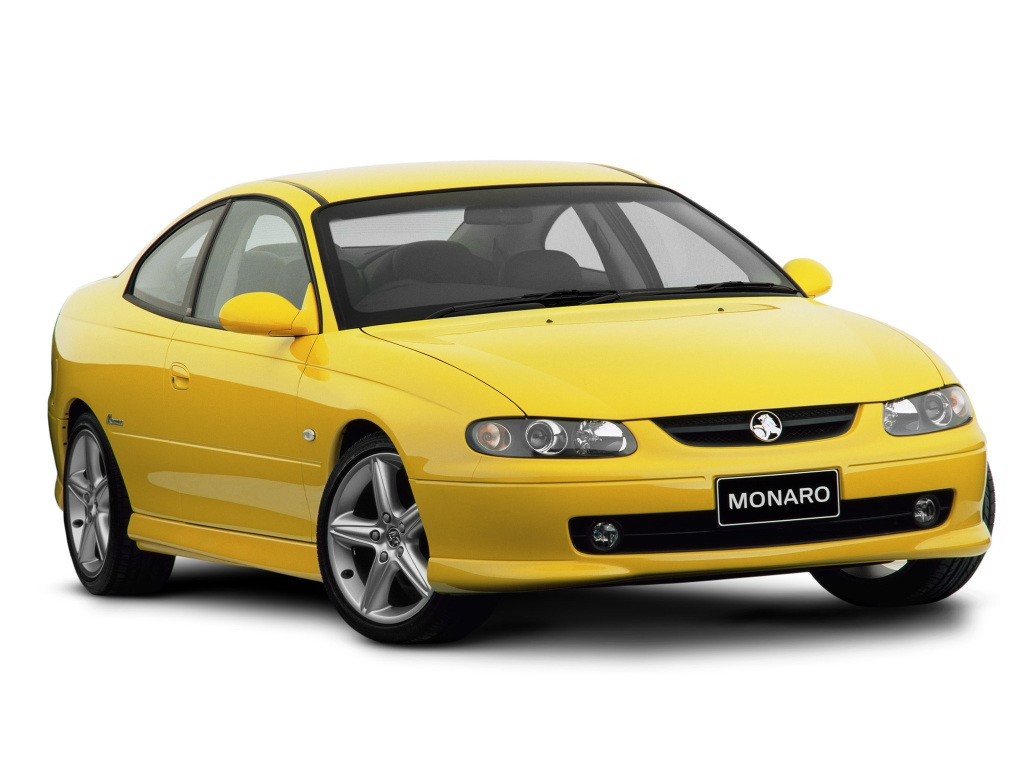 HOLDEN Monaro specs & photos - 2001, 2002, 2003, 2004, 2005