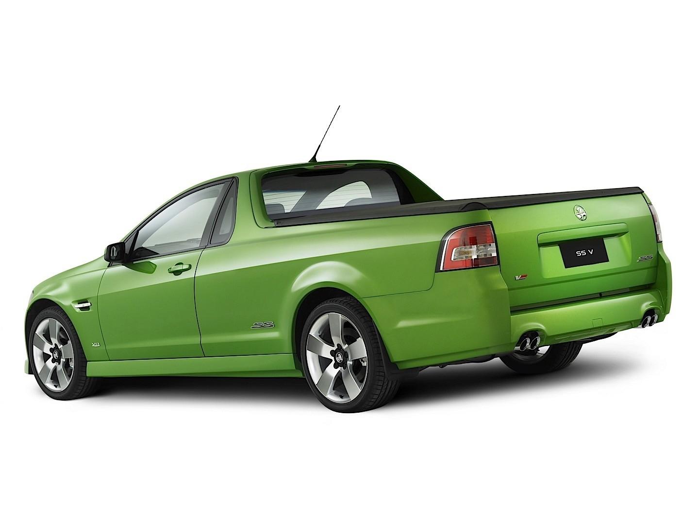 Holden Ute Specs 2007 2008 2009 2010 2011 2012