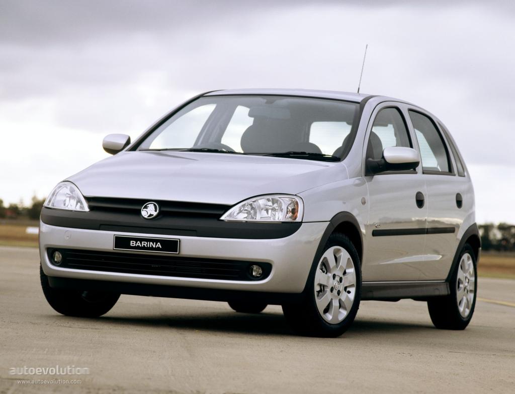 Holden Barina 5 Doors 2000 2001 2002 2003 2004 2005 Autoevolution