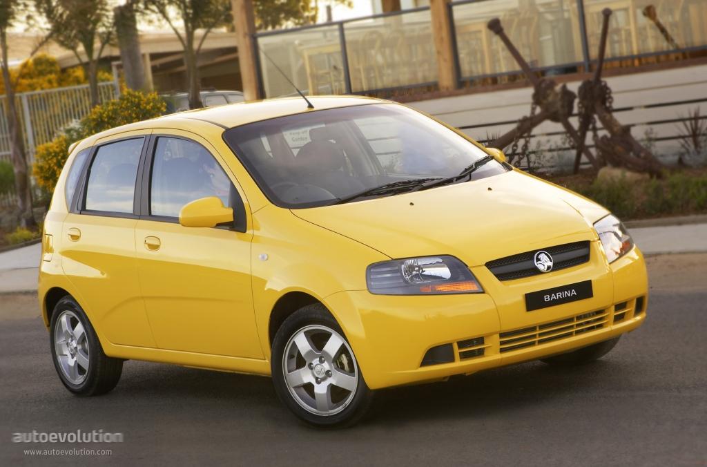 Holden Barina 5 Doors Specs 2005 2006 2007 2008 2009