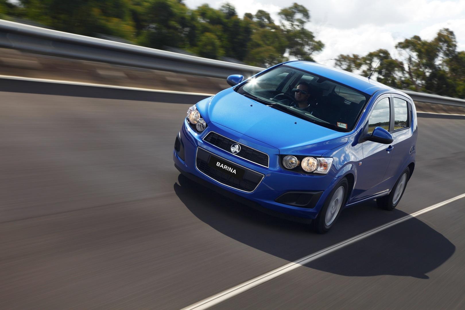 Holden Barina Spark 2010 2011 2012 2013 2014 2015