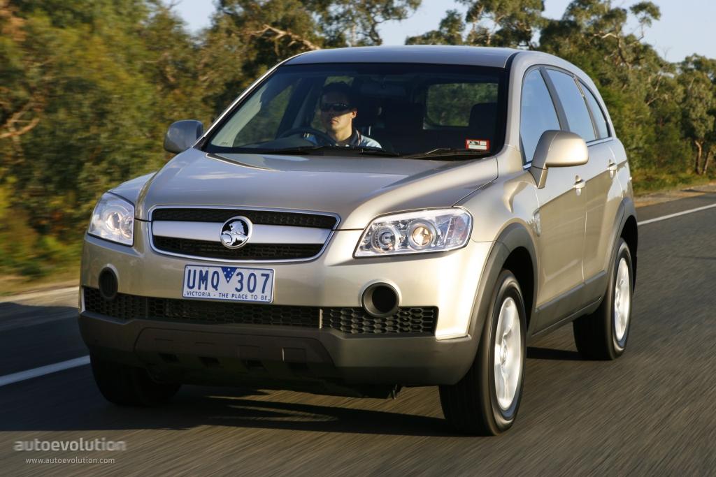 Holden Captiva Specs Photos 2006 2007 2008 2009 2010 2011