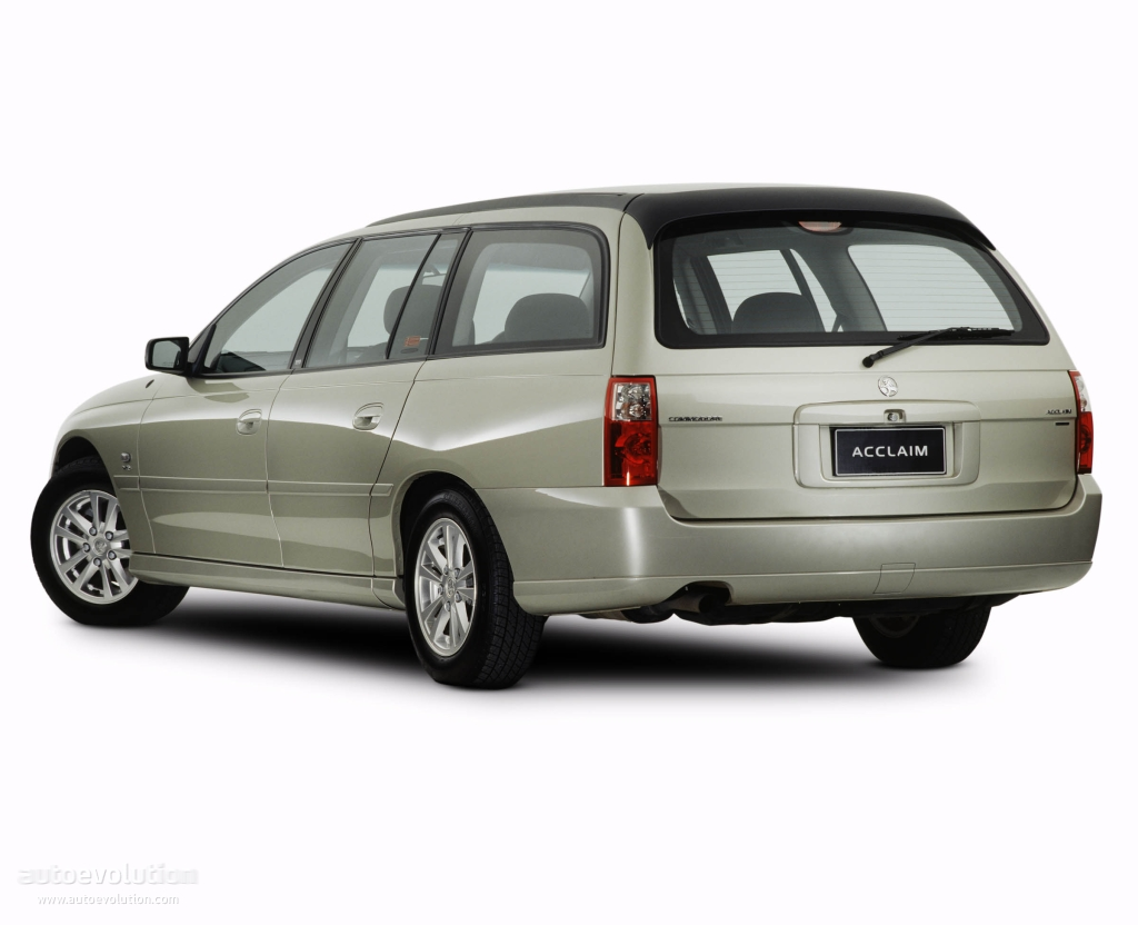 HOLDEN Commodore Wagon specs & photos - 2003, 2004, 2005, 2006 - autoevolution