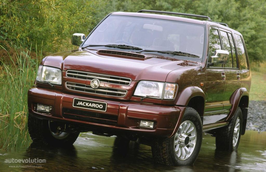 Holden Jackaroo 1998 2002