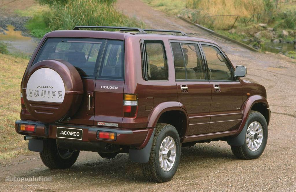 HOLDEN Jackaroo specs - 1998, 1999, 2000, 2001, 2002 - autoevolution