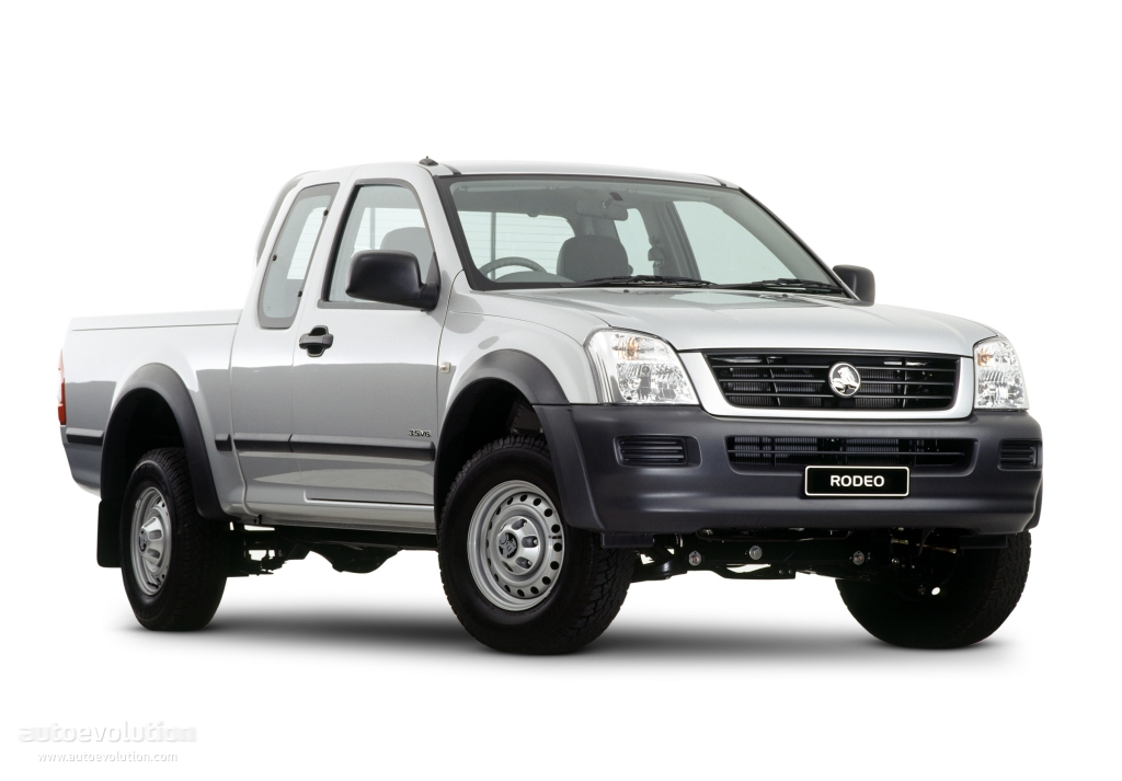 HOLDEN Ranger Space Cab specs - 2003, 2004, 2005, 2006 ...