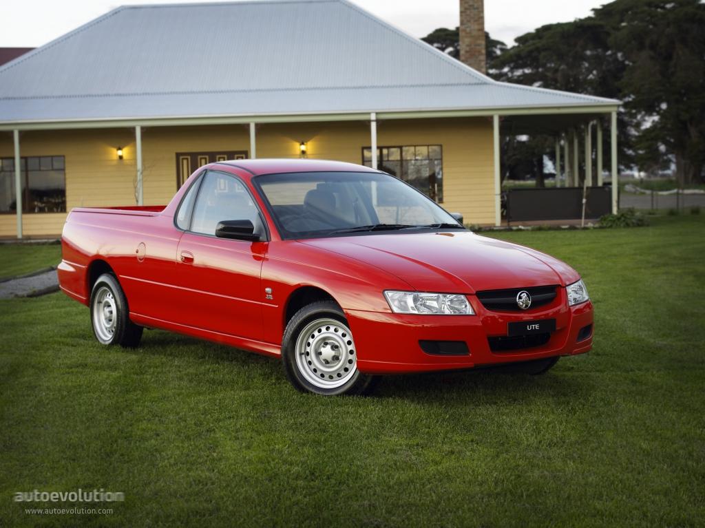 Holden Ute Specs 2003 2004 2005 2006 2007
