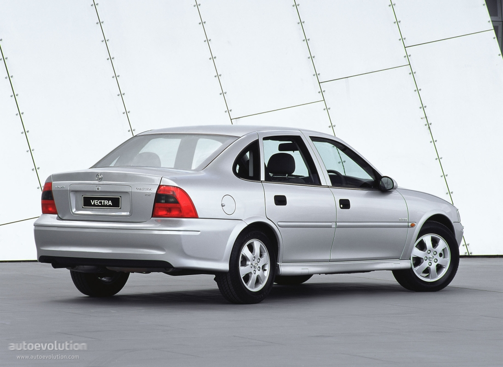 Holden Vectra Sedan Specs 1995 1996 1997 1998 1999