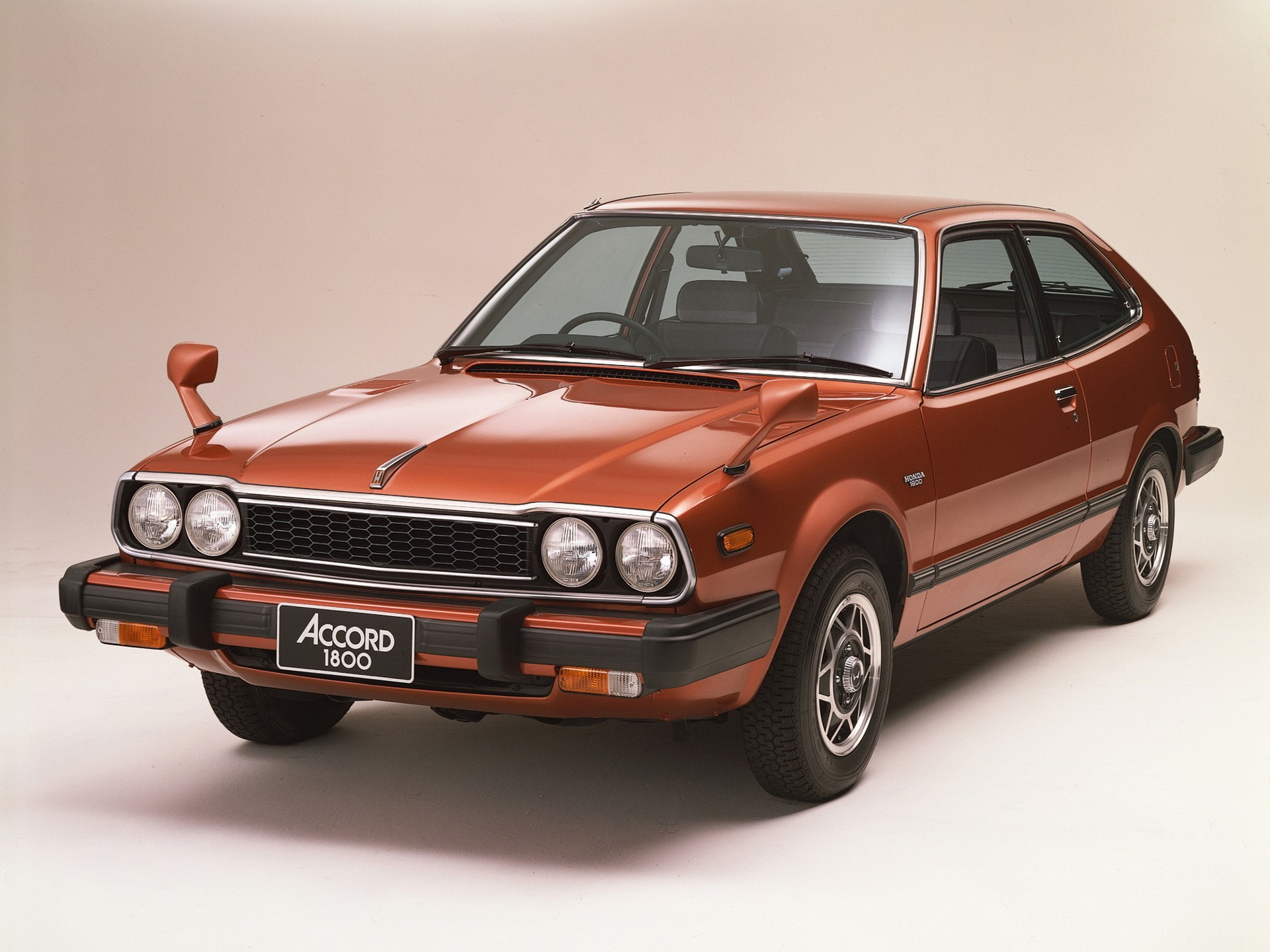 HONDA Accord 3 Doors - 1976, 1977, 1978, 1979, 1980, 1981 ...