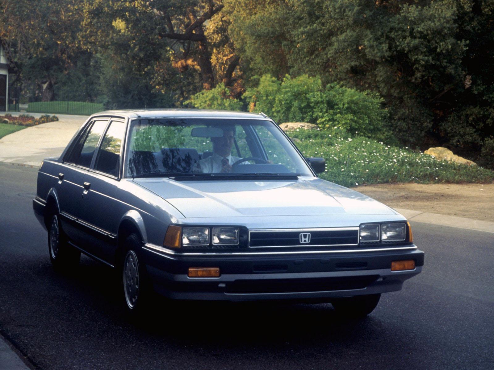 Honda Accord 4 Doors Specs Amp Photos 1981 1982 1983