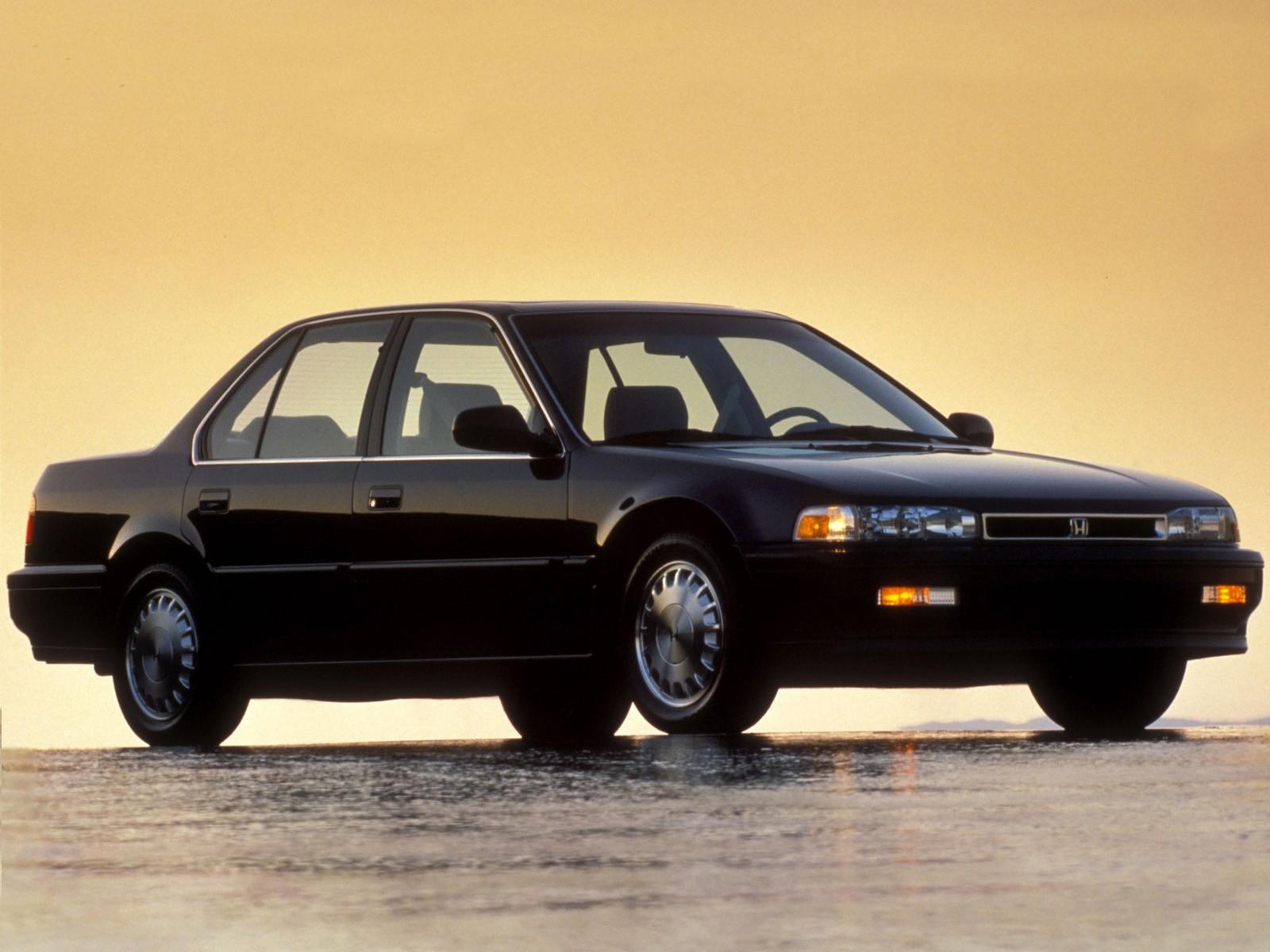 HONDA Accord 4 Doors specs  1989 1990 1991 1992 1993