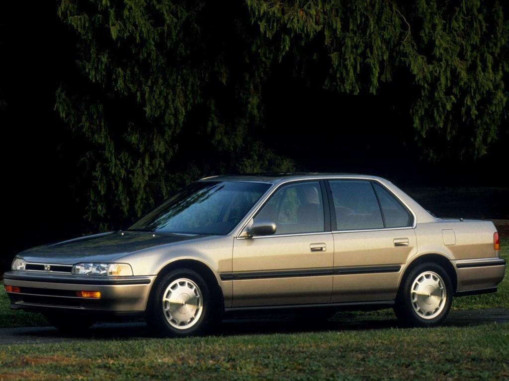 HONDA Accord 4 Doors specs & photos - 1989, 1990, 1991 ...