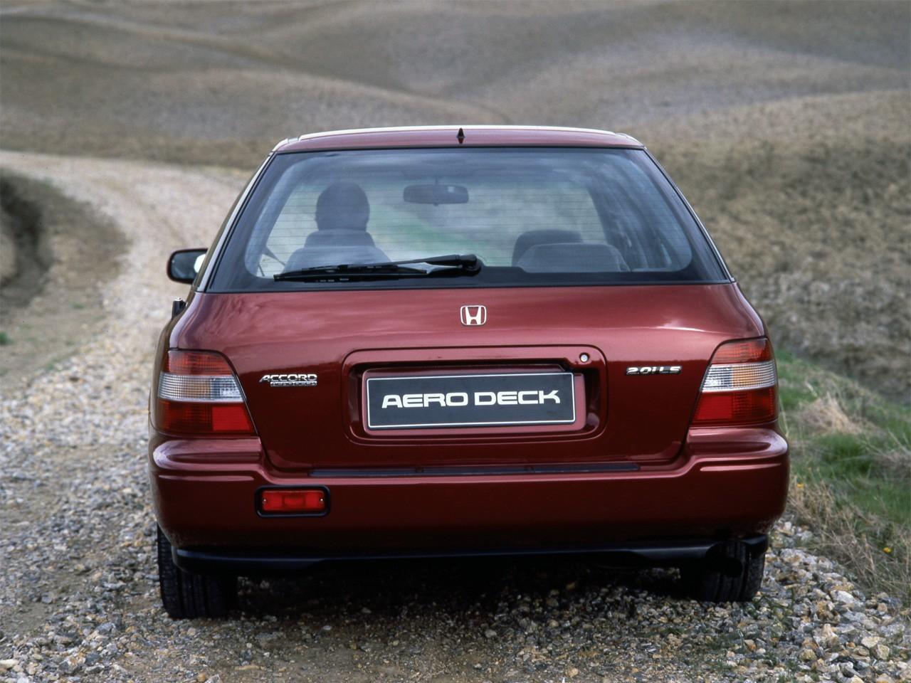 HONDA Accord Aerodeck specs - 1993, 1994 - autoevolution