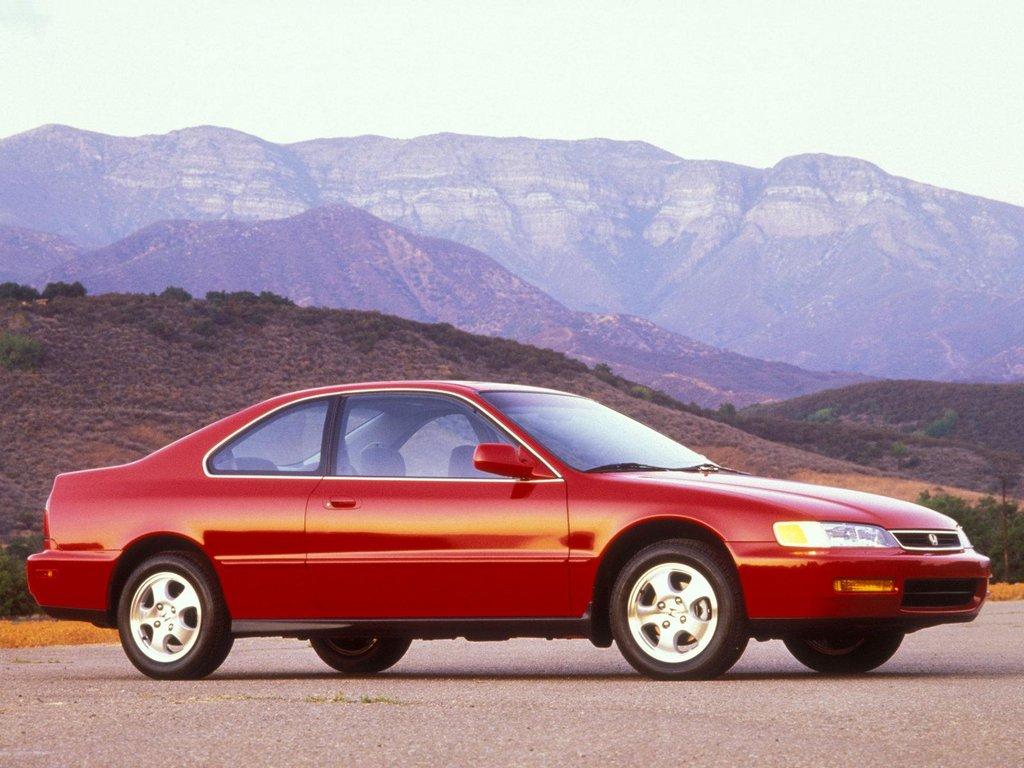 HONDA Accord Coupe specs & photos - 1994, 1995, 1996, 1997 ...