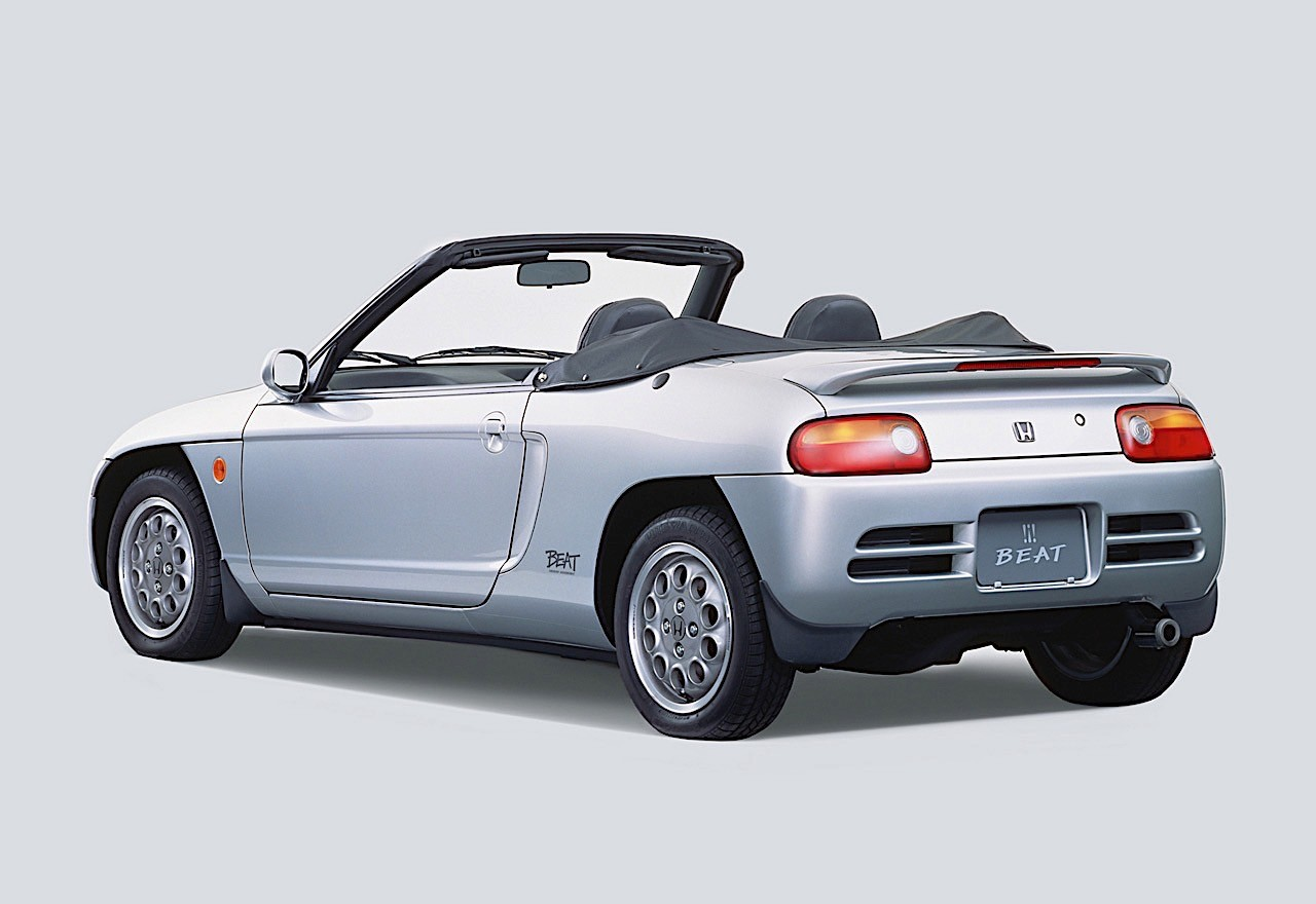 Honda Beat Specs Amp Photos 1991 1992 1993 1994 1995