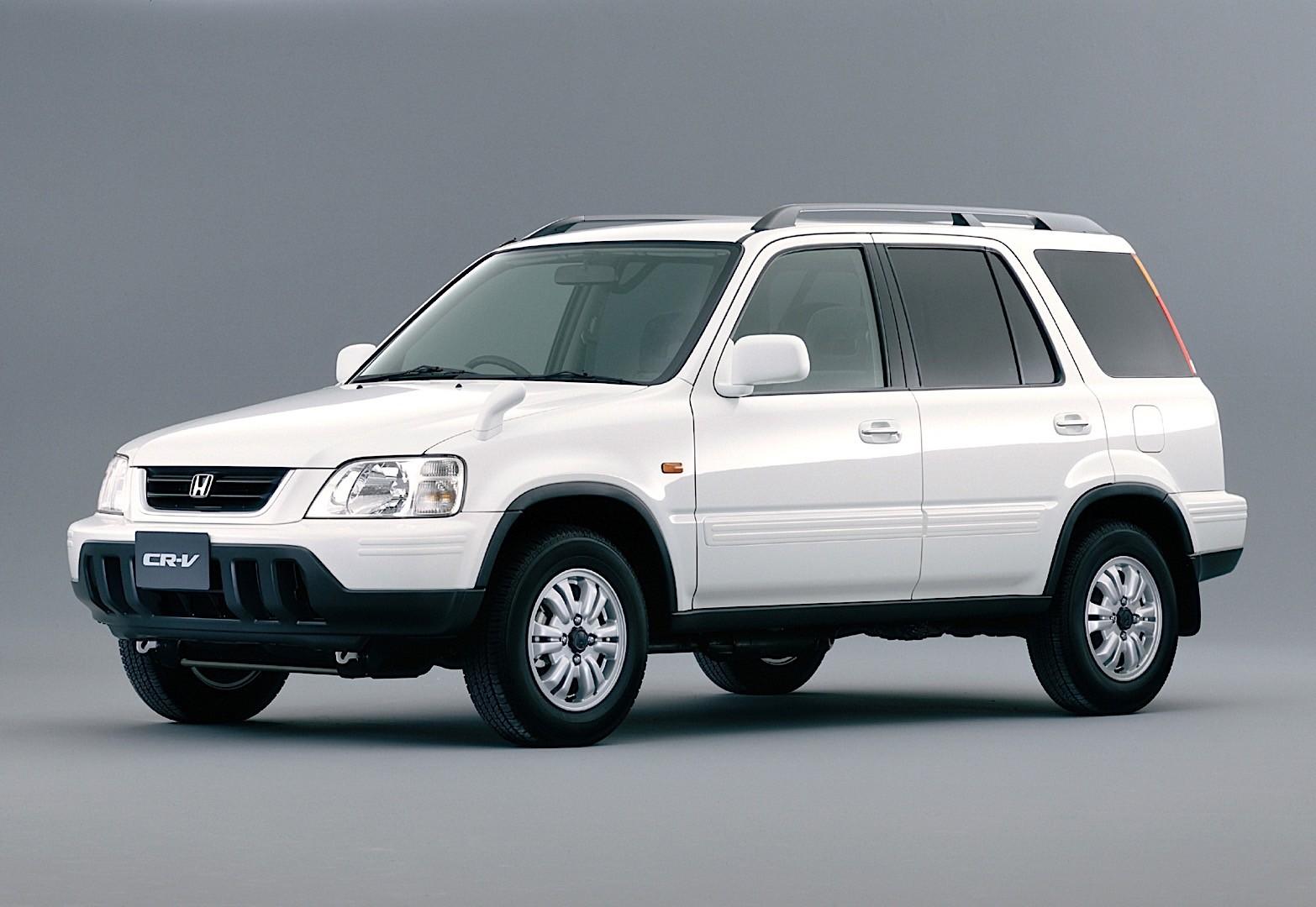 HONDA CR-V specs & photos - 1996, 1997, 1998, 1999, 2000, 2001 - autoevolution