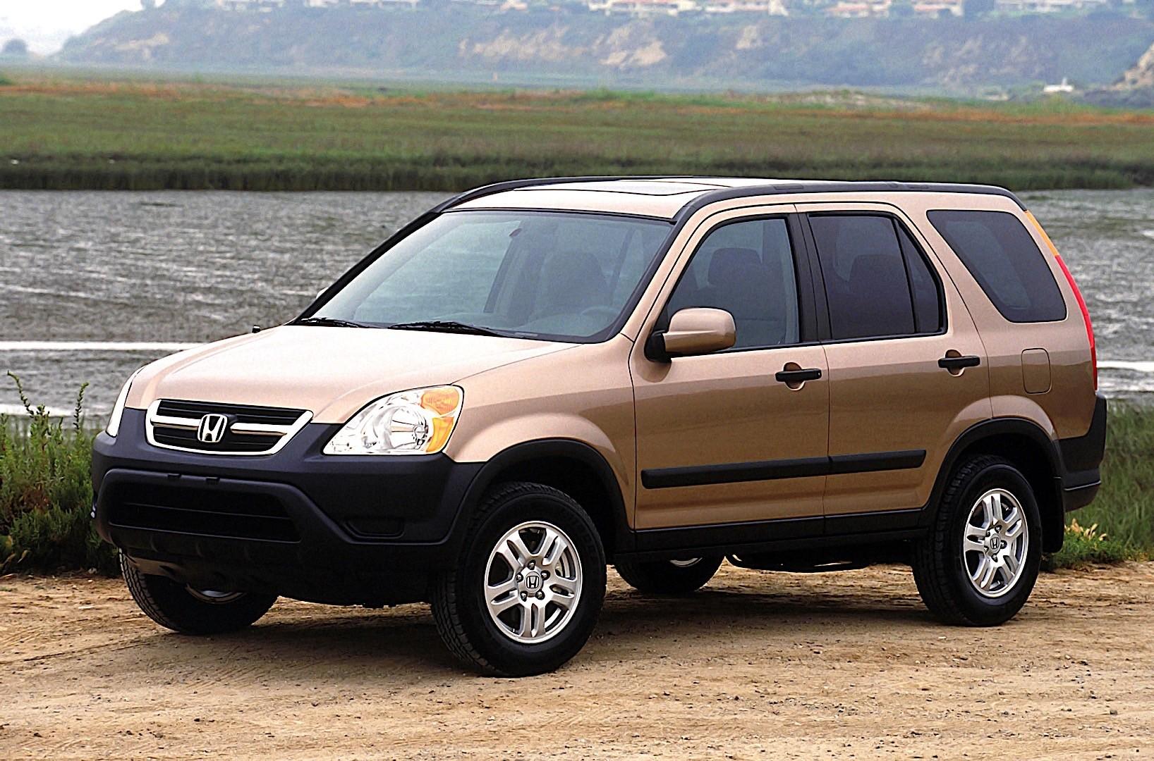 HONDA CR-V specs & photos - 2002, 2003, 2004 - autoevolution