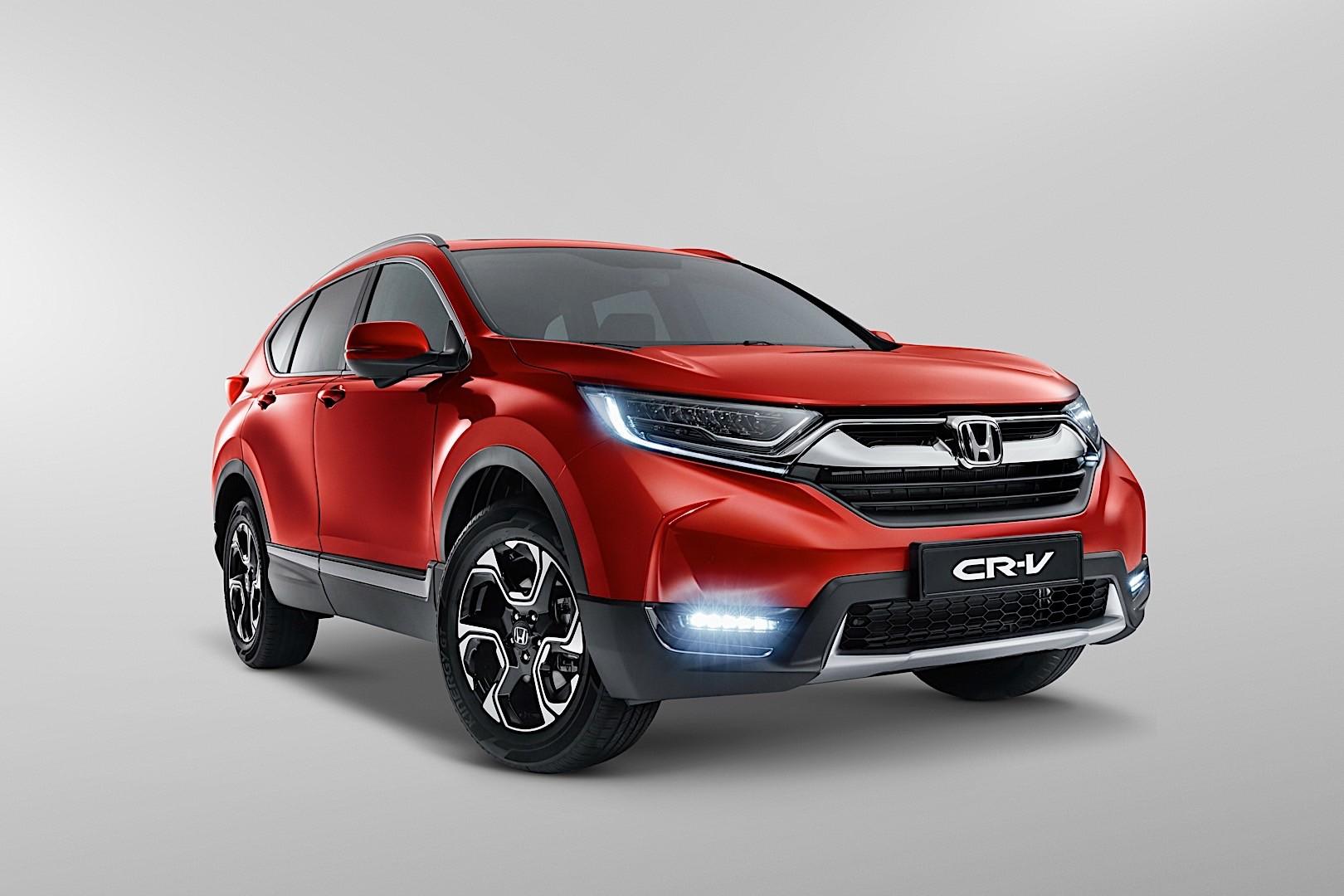 Honda cr v specs 2016 2017 2018 autoevolution for Honda cr v dimensions 2017