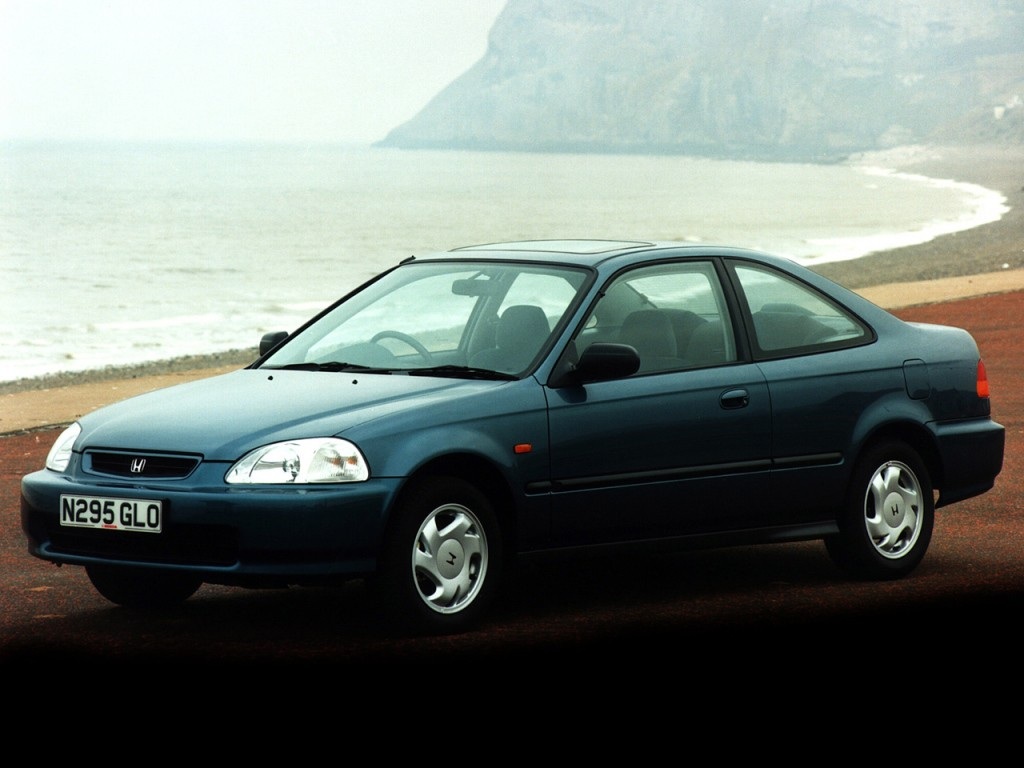 HONDA Civic Coupe specs & photos - 1994, 1995, 1996 - autoevolution