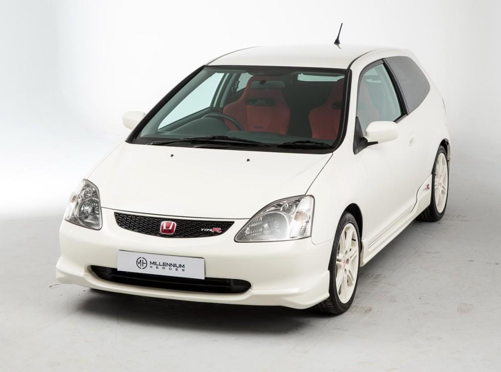 HONDA Civic Type-R specs & photos - 2001, 2002, 2003, 2004 ...