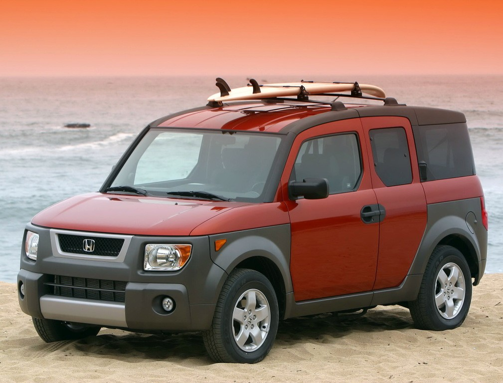 honda element specs photos 2003 2004 2005 2006. Black Bedroom Furniture Sets. Home Design Ideas