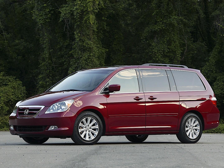 HONDA Odyssey specs - 2005, 2006, 2007, 2008 - autoevolution