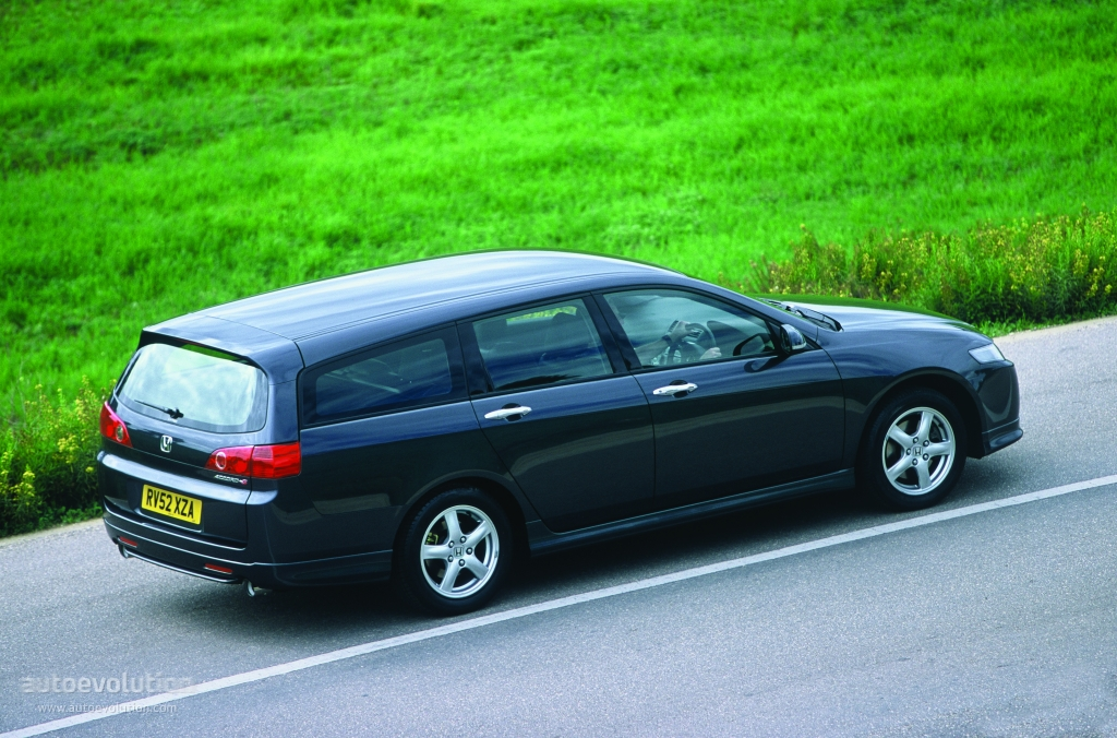 Honda Accord Tourer Specs 2003 2004 2005 Autoevolution