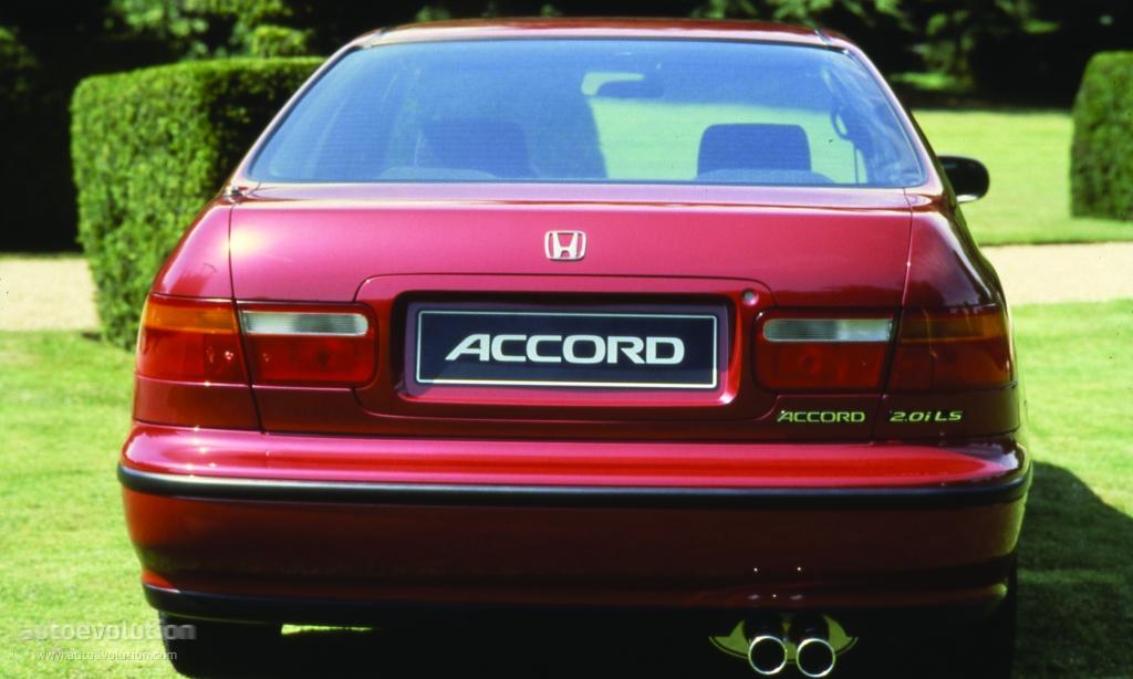 Honda Accord Evolution >> HONDA Accord 4 Doors specs - 1993, 1994, 1995, 1996 - autoevolution