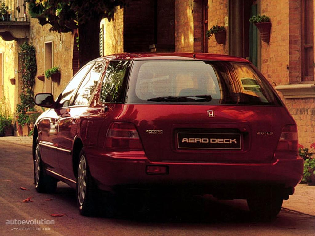 New Honda Accord Sedan >> HONDA Accord Aerodeck specs - 1993, 1994 - autoevolution