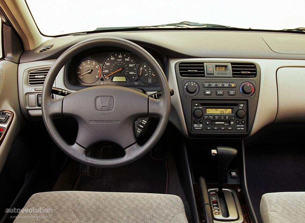 Honda Accord Sedan Us 1997 1998 1999 2000 2001 2002