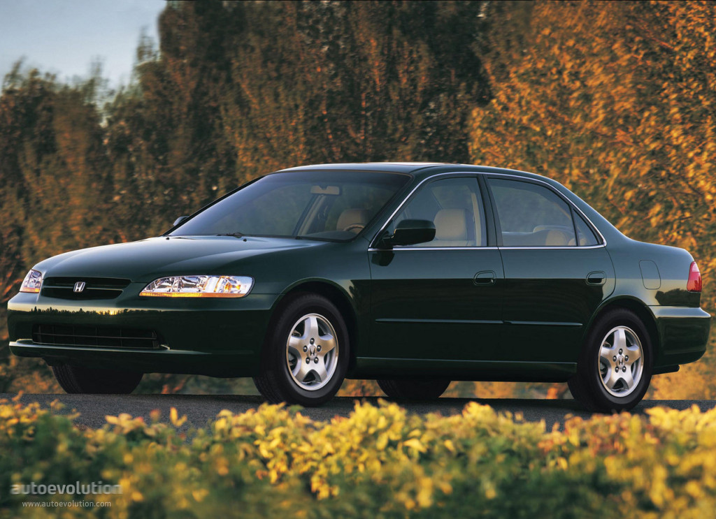 Honda Accord Sedan Us Specs Amp Photos 1997 1998 1999
