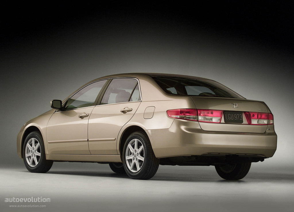 Honda Accord Sedan Us 2002 2005