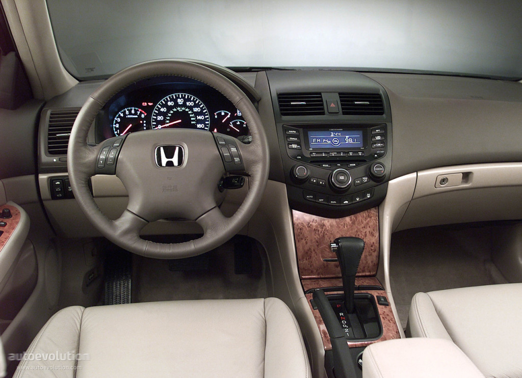 Honda North America >> HONDA Accord Sedan US specs & photos - 2002, 2003, 2004, 2005 - autoevolution