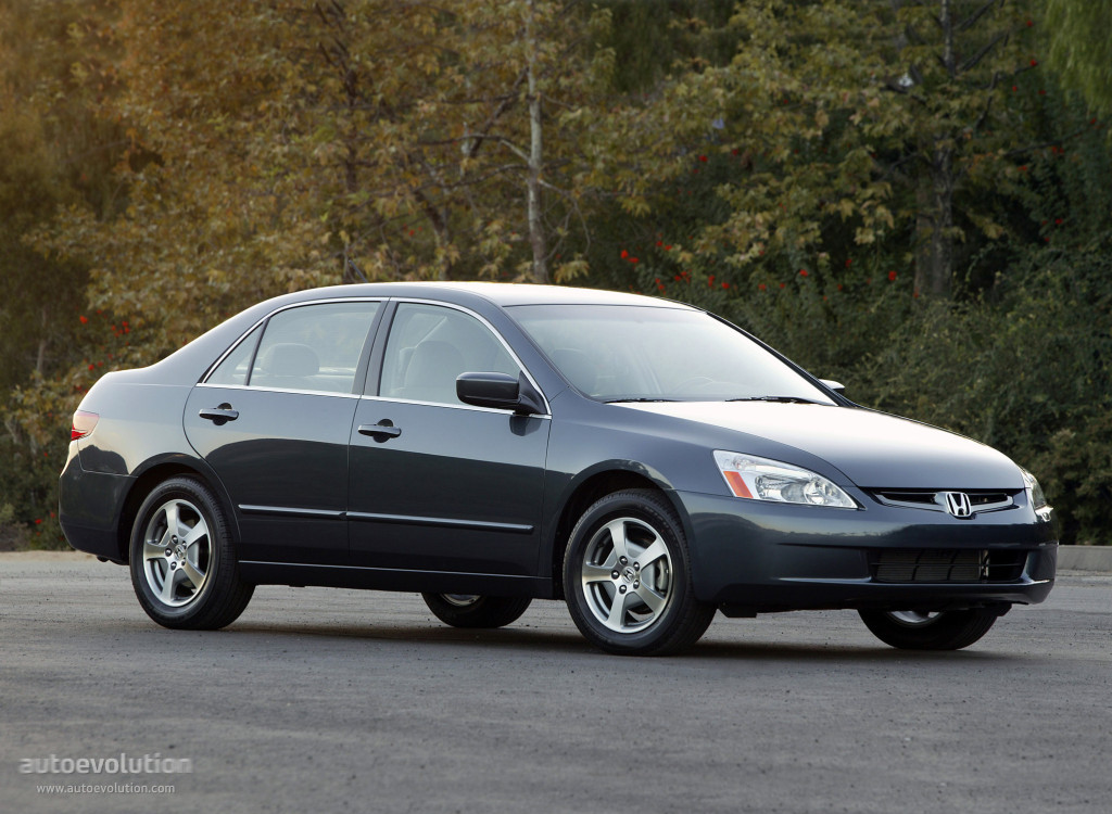 Honda Accord Sedan Us Specs 2005 2006 2007 Autoevolution