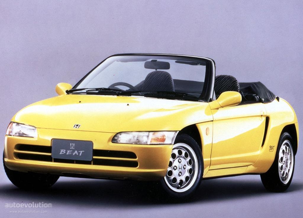Honda Beat Specs Amp Photos 1991 1992 1993 1994 1995
