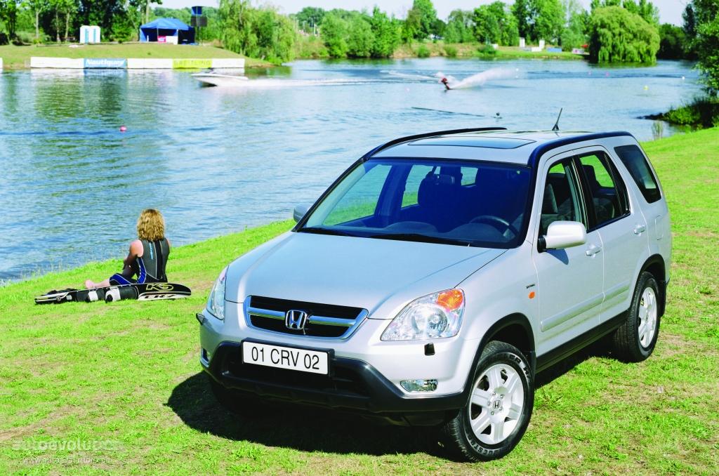 Honda Cr V 2002 2004