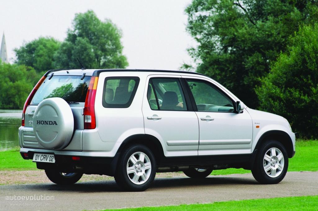 Honda Cr V Specs 2002 2003 2004 Autoevolution