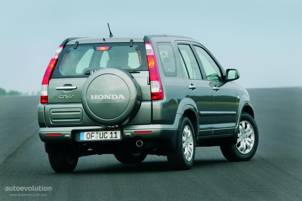 Honda Cr V 2004 2007