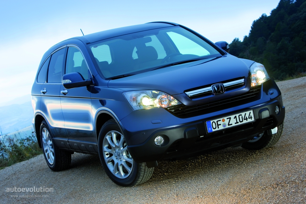 HONDA CR-V - 2007, 2008, 2009 - autoevolution