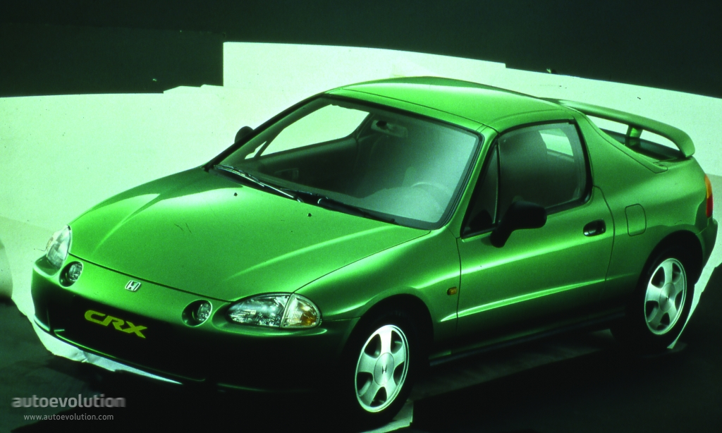 HONDA CRX Del Sol specs - 1992, 1993, 1994, 1995, 1996 ...