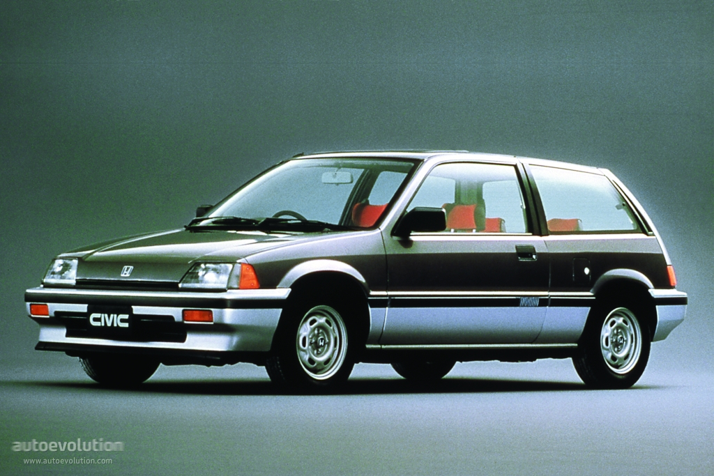 Honda civic 3 doors specs 1983 1984 1985 1986 1987 for Honda civic 1985