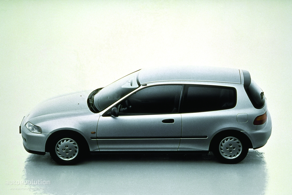 HONDA Civic 3 Doors specs & photos - 1991, 1992, 1993 ...