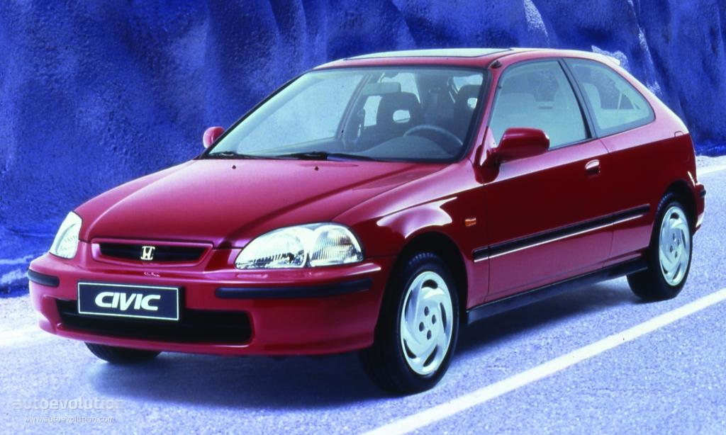 Honda civic 3 doors specs 1995 1996 1997 1998 1999