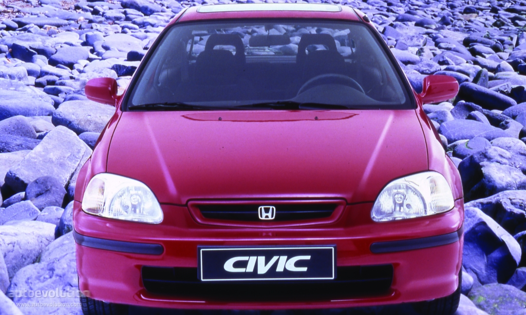 HONDA Civic 3 Doors specs & photos - 1995, 1996, 1997 ...