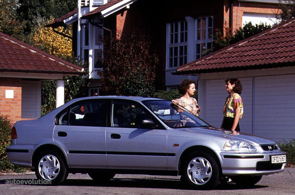 Honda Civic Sedan 1995 1996 1997 1998 1999 2000