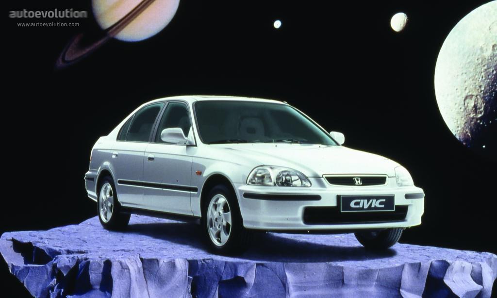 Honda Civic Sedan 1995 1996 1997 1998 1999 2000 Autoevolution