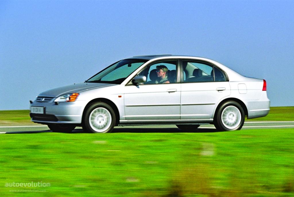 Honda Civic Sedan Specs 2000 2001 2002 2003 Autoevolution