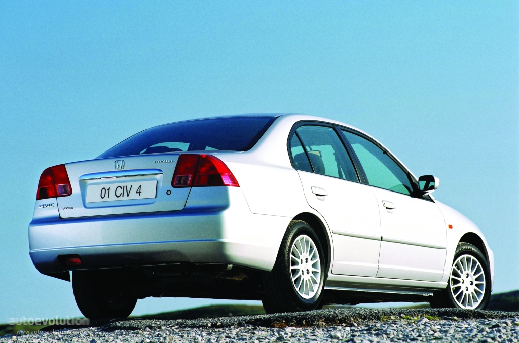 HONDA Civic Sedan - 2000, 2001, 2002, 2003 - autoevolution